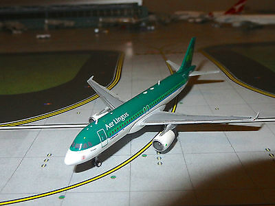 Aer Lingus A320 Diecast Model Aircraft 1/400 Scale Gemini Jets