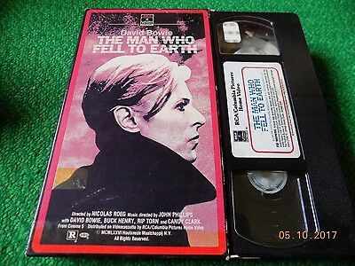 David Bowie VHS The man who fell to Earth