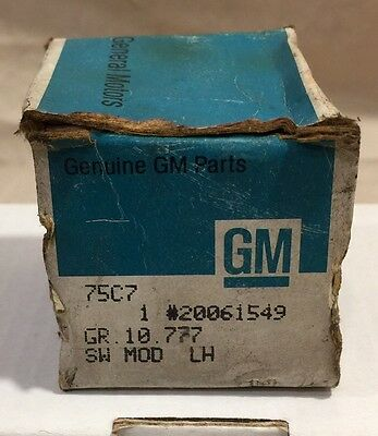 Genuine NOS GM Chevy GMC POWER WINDOW SWITCH
