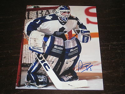 PETER ING autographed TORONTO MAPLE LEAFS 8X10 photo L@@K