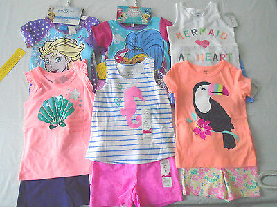 New 16 Pc. Lot Of Baby/toddler Girl Clothes 3T/4T Nwt $186