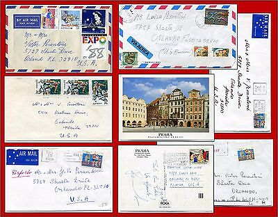 7 items AUSTRALIA SPORTS STAMPS and one from Italy and one from Czech Republic