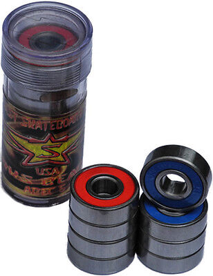 8x Sparks Super Fast ABEC 5 Skateboard Bearings. Made in USA *BUY 1 GET 1 FREE!*