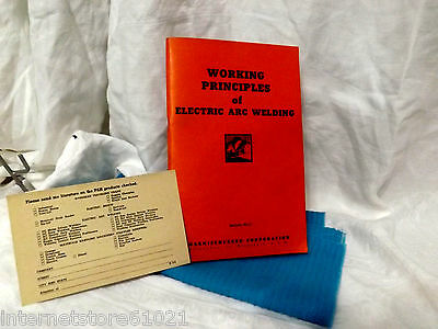ARC WELDING Princiles Handbook of Arc Welding /Manual Electric Metal Working1944