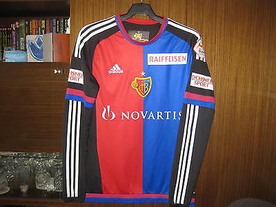 Basel fc SHIRT MATCH WORN Daniel Höegh