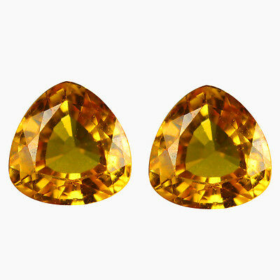 1.17Ct 100% Most Beautiful Rarest Natural Good Luster Yellow Sapphire Gemstone