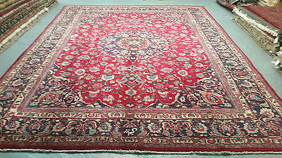 oriental persian carpet rug 100% handknotted 100% wool   400x300cm Signed