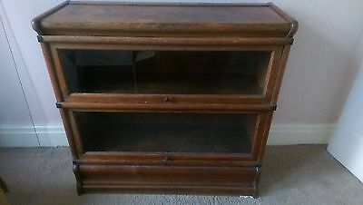 Beautiful Antique Globe-Wernicke 2-Tier Section Bookcase / Shelving Unit
