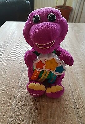 Barney The Dinosaur Musical Soft Plush Toy Small 2007