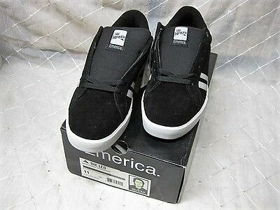 "Emerica ""The Leo"" Black/Grey Sz 11 Reynolds Spanky Long Hsu Figgy Provost"