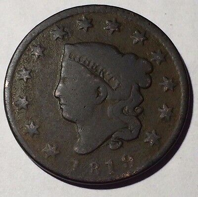 1819 Coronet Head Large Cent