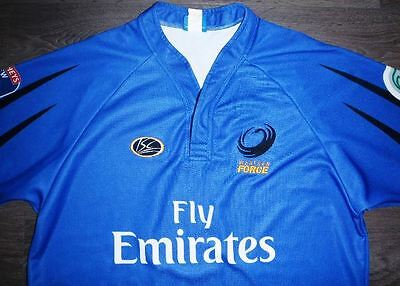 Western Force Super 14 Rugby Union Jersey Shirt Large Australia Isc Wallabies