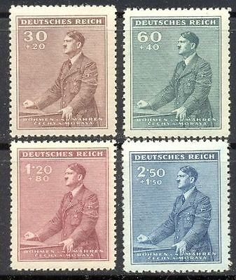 WWII 3Rd Reich BaM Hitler´s 53th birthday   MNH