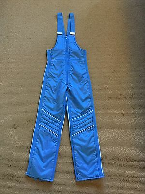 Kids Snow Pants Bib N Brace Size 10 Very Good Condition