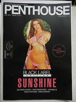 May 2014  Black Label Australian Penthouse Magazine - Subscriber Only Edition