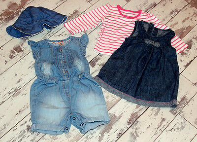 F&F and GEORGE - Baby Girl 3-6 months bundle