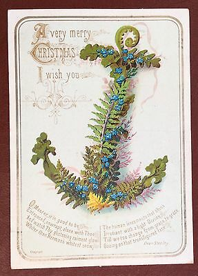 Vintage Greeting Card - A Very Merry Christmas, I Wish You