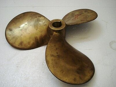 LARGE – VINTAGE Boat PROPELLER - BRASS - 6 KILO - SHIP'S 100% ORIGINAL(1908)