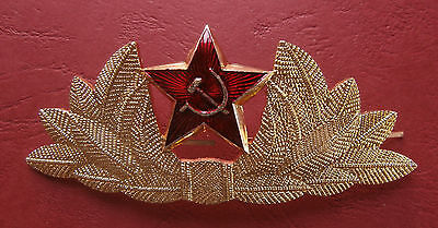 Soviet Russian cockarde of the soldier and sergeant the non-statutory