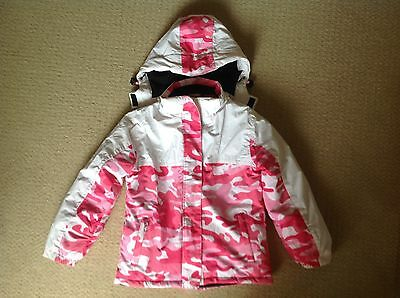Junior Girls Waterproof Snow Ski Jacket Size 12