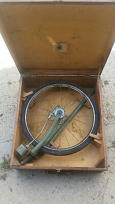 vintage measuring wheel