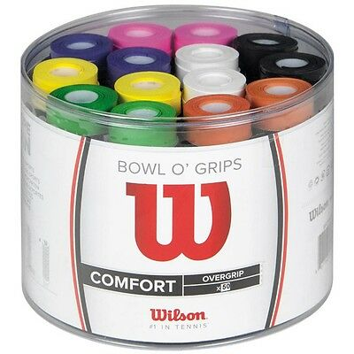 WILSON Bowl of GRIP  X50 colori misti   SUPERPROMO
