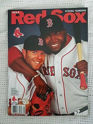 Boston Red Sox Yearbook 2013