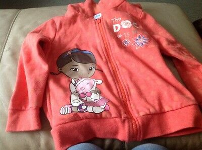Disney Doc McStuffins Hooded Jacket Age 5-6 Years