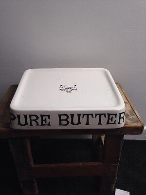 Pure Butter Dish Reproduction Dairy Supply Co London