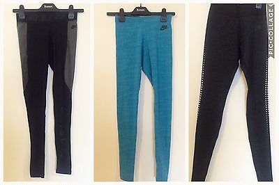 Ladies xs Nike Leggings - Three Pairs