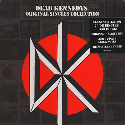 "DEAD KENNEDYS singles collection 7 x 7"" bleed for me nazi punks holiday in"
