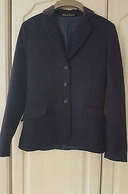 Pretty Ponies Navy Show Jacket 30""
