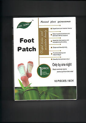 3 Packs Detox foot patches 10 in a Pack