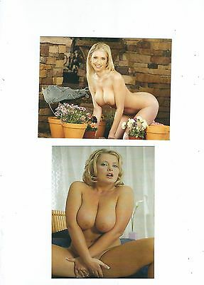 Two Risque Postcard Beauties
