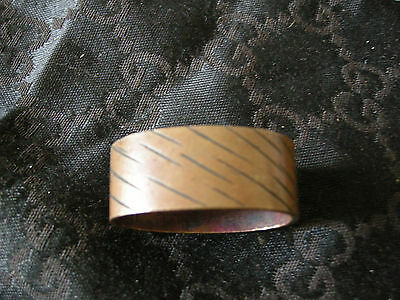 Japanese Fuchi sword fitting in copper  19th century