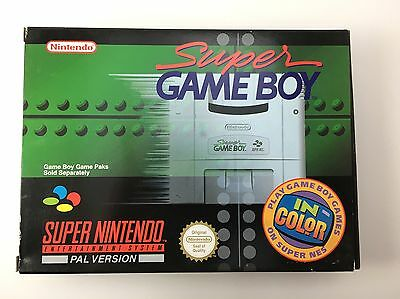 Super Game Boy SNES PAL (AUS) Boxed Super Nintendo