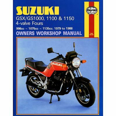 Manual Haynes for 1982 Suzuki GSX 1100 SZ Katana
