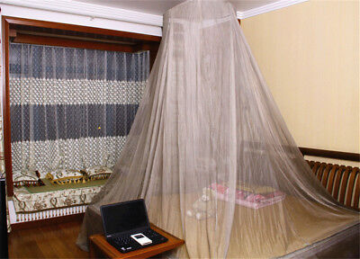 EMF Protection Radiation Reducing Mosquito Netting Dome Canopy-Silver Fiber Mesh