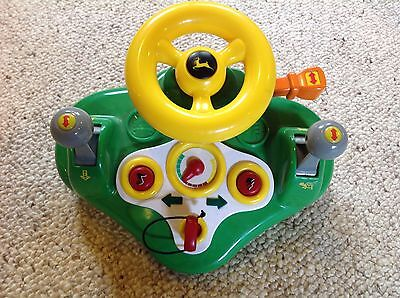 JOHN DEERE Busy Driver  Battery operated steering wheel with sounds