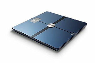 Withings WiFi Body Composition Scales NEW Wi-Fi Bluetooth Smart Scale BLACK