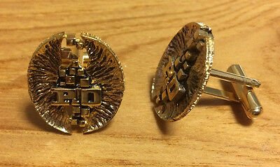 P&o Cruises 24Ct Gold Plated Cuff Links - Unused