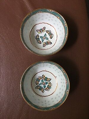 Antique Chines Rice Bowls