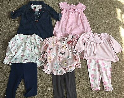 Bundle Of Baby Girls' Clothes 3-6 Months