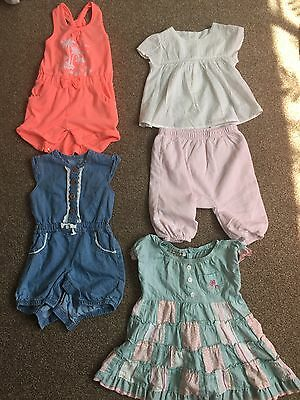 Bundle of Baby Girls' Summer Clothes 3-6 Months