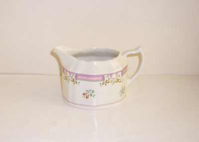"Laura Ashley ""Alice"" Creamer/Milk Jug Pink & Floral Design."