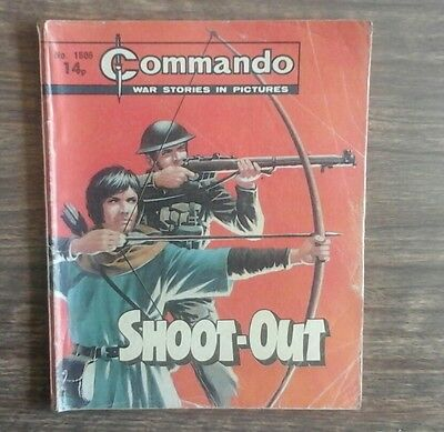 commando war stories in pictures. no.1506. Shoot-Out.