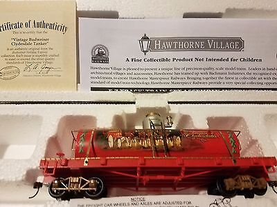 "Budweiser Holiday Express ""Vintage Budwesier Clydesdale Tanker"""