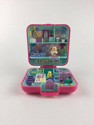POLLY POCKET Vintage Bluebird 1989 Partytime Surprise *COMPLETE w/ SKIRT*