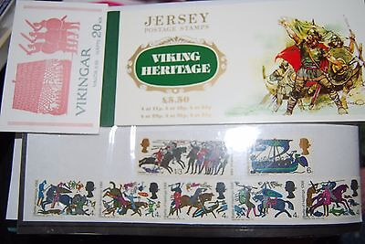 Viking/Battle of Hastings stamps
