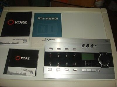 Native Instruments Kore USB 2.0 Audio Interface - MIDI Controller
